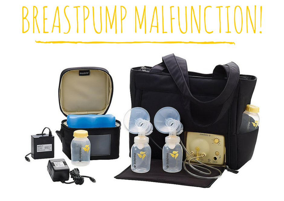 Breastpump Malfunction