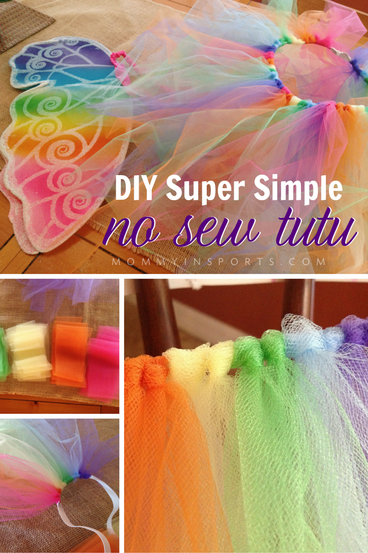 Diy super simple no sew tutu why pay a fortune for a tutu skirt when you can totally make one and rock solutioingenieria Images