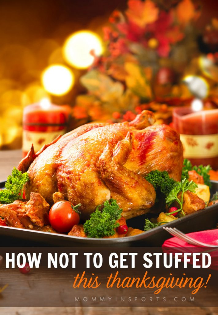 It IS possible to stay healthy this holiday season! Here's how not to get too stuffed this Thanksgiving including healthy eating tips and exercise!