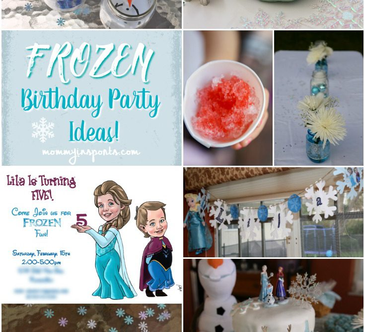 Frozen Birthday Party Ideas!