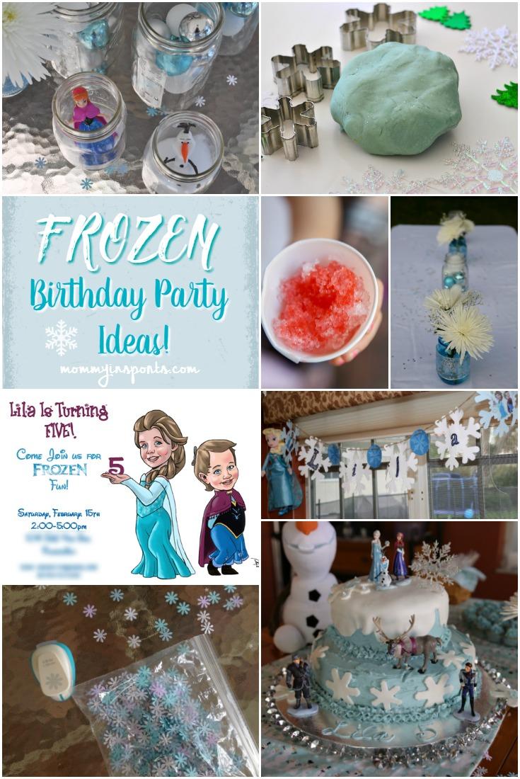 Frozen Birthday Party Ideas Kristen Hewitt
