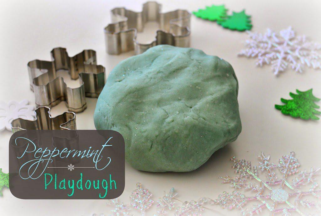 Homemade Peppermint Playdough Recipe
