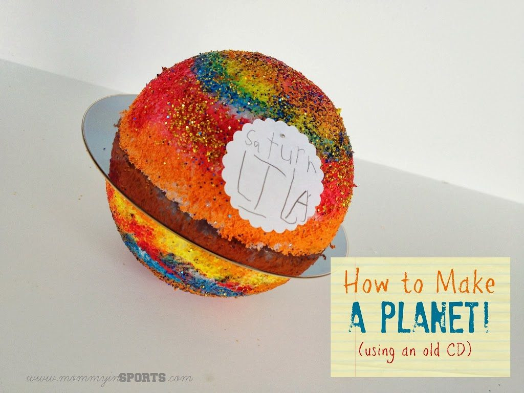 Teaching Tuesday:  How to Make a Planet (with an old CD!)