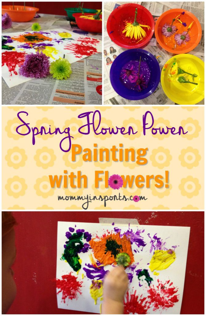 Looking for some fun ways to bring spring to your home? Try painting with flowers! Or why not start a garden?