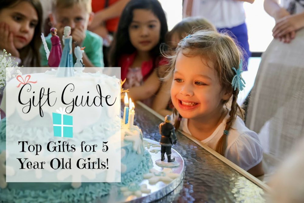 Gift Guide:  Top Gifts for 5 Year Old Girls!