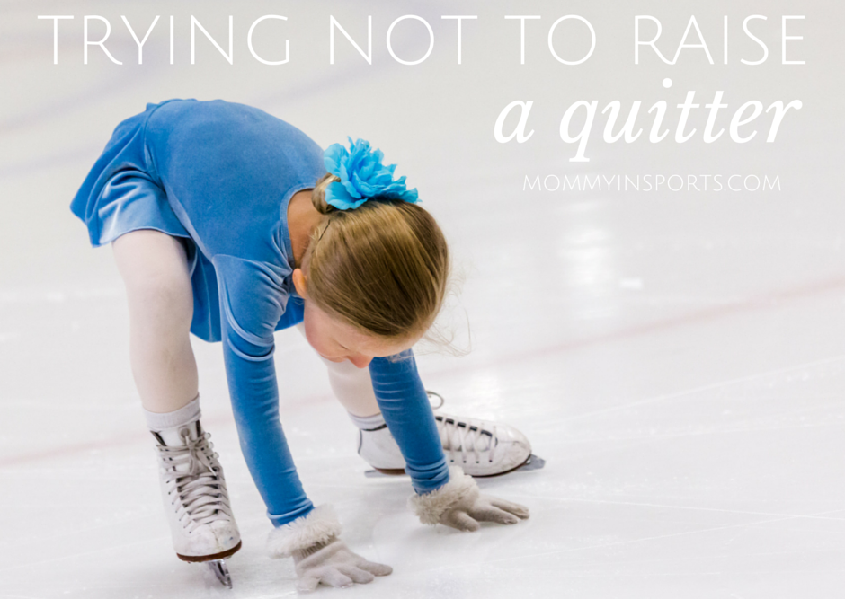 Trying Not to Raise a Quitter