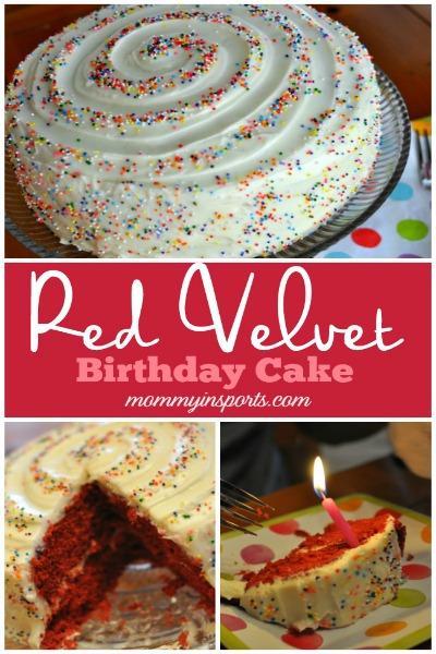 Red Velvet Birthday Cake PIN