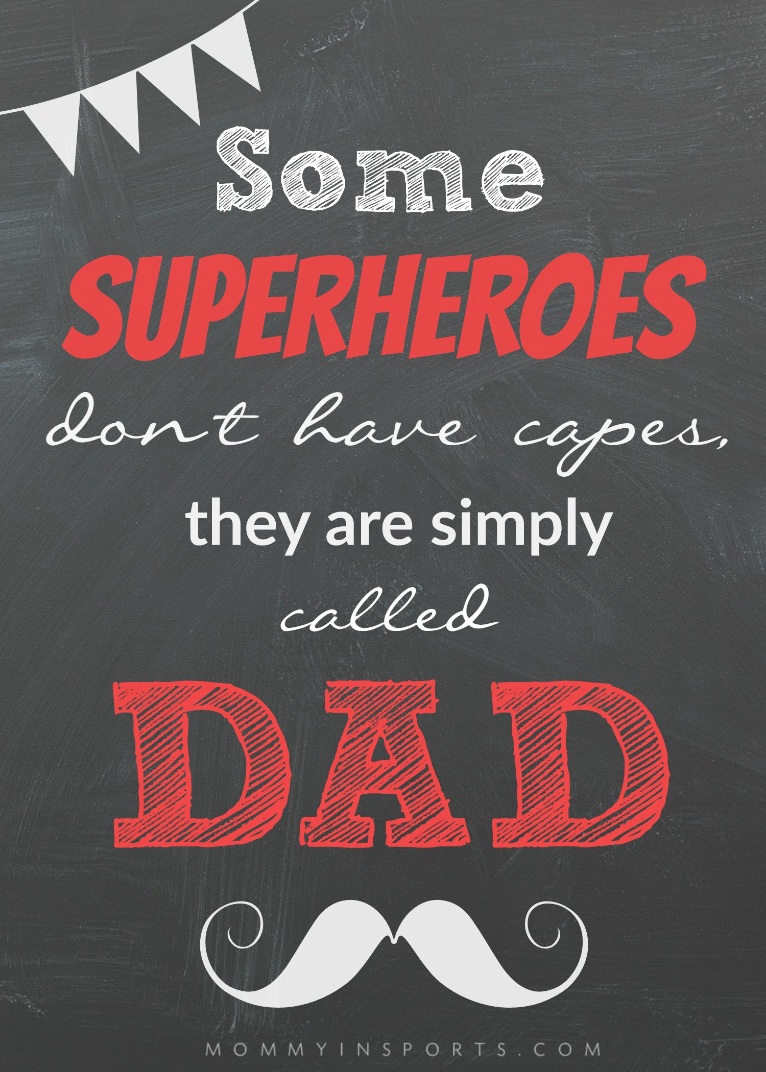5 Amazing Dad Superpowers Free Printable Kristen Hewitt