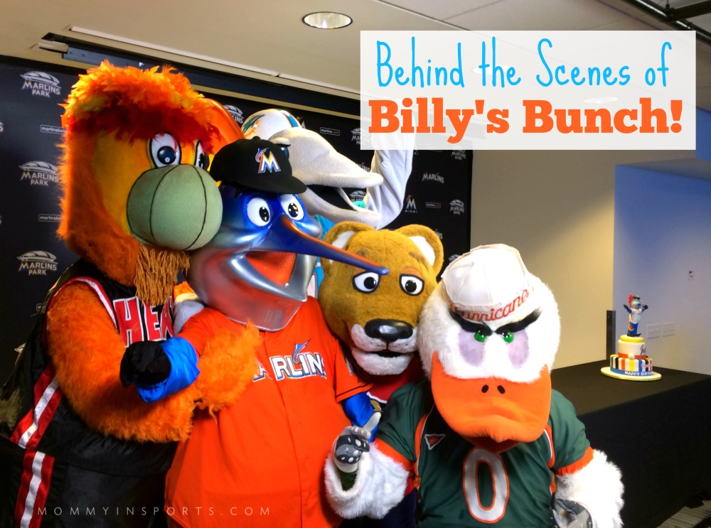 Behind the Scenes Billy's Bunch