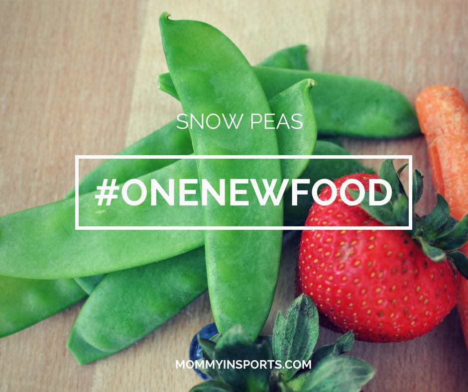 Snow Peas #OneNewFood