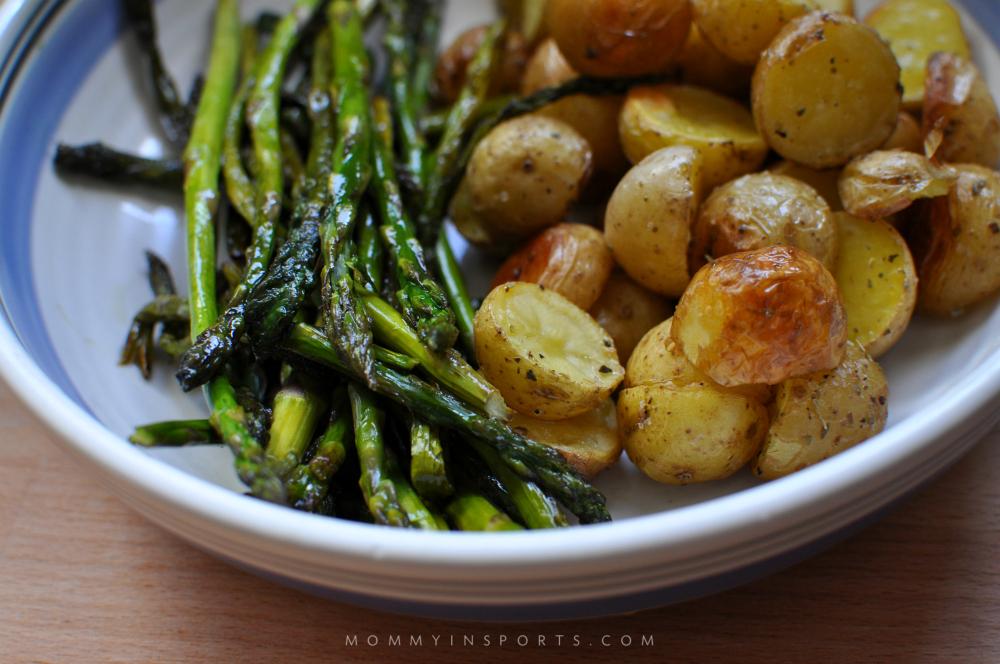 Asparagus and Potates