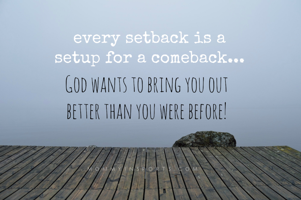 Every setback quote