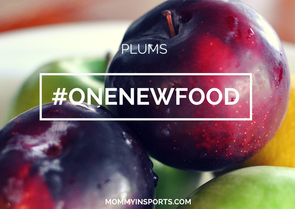 One New Food – Plums