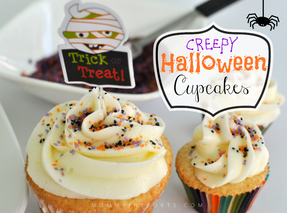 Looking for a simple treat to make with the kids this Halloween? Try out these delish and easy CREEPY Halloween Cupcakes! Who says the holidays need to be complicated?!