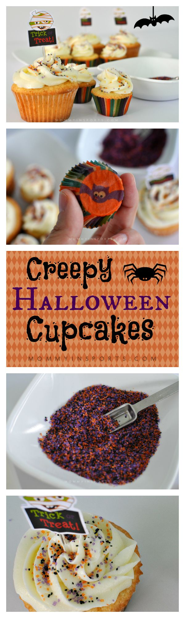 Looking for an easy way to celebrate Halloween with the kids?! Get creative in the kitchen with these delicious Halloween cupcakes! Simple is best don't you think?!