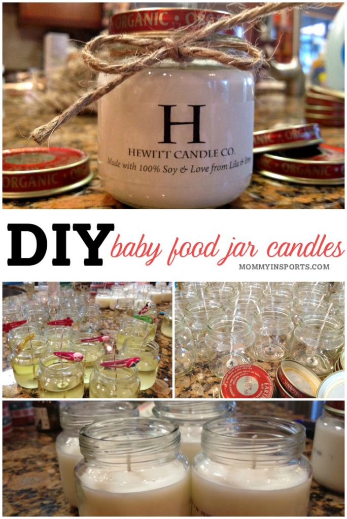 Looking for a way to upcycle those baby food jars that you've been saving? Make these DIY baby food jar candles! They are easy, inexpensive, and have the perfect rustic charm of a homemade gift!