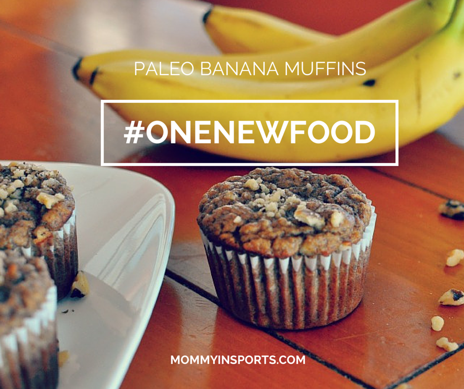 One New Food Paleo Banana Muffins