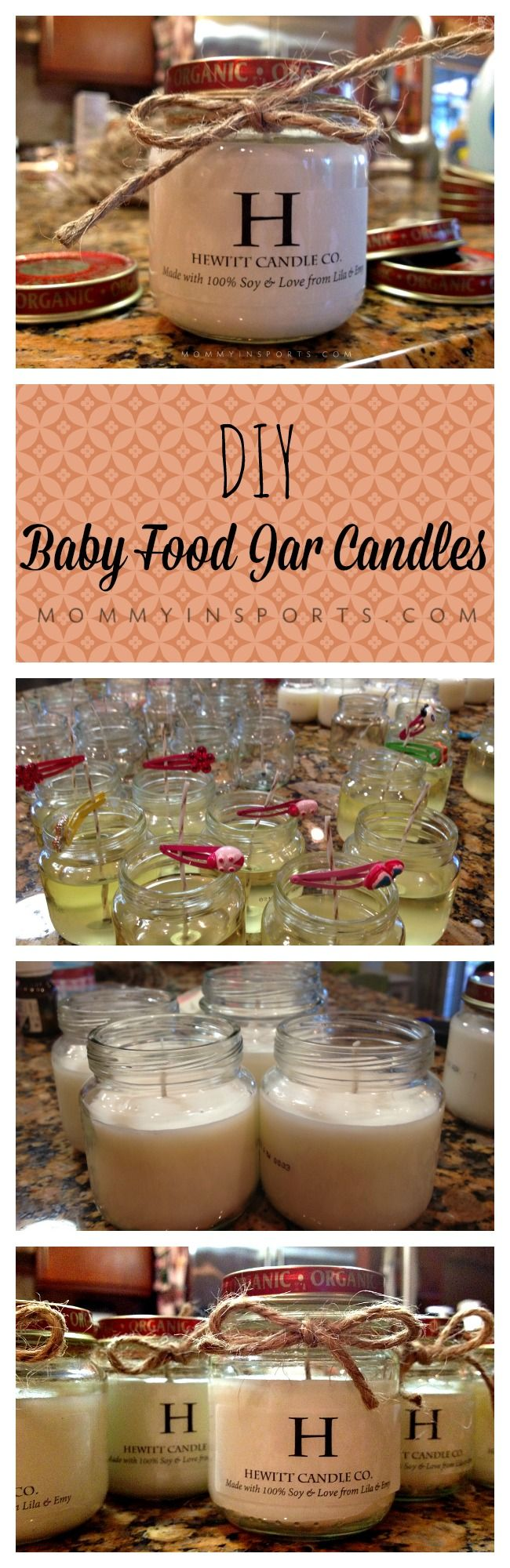 Christmas Ideas For Baby Food Jars