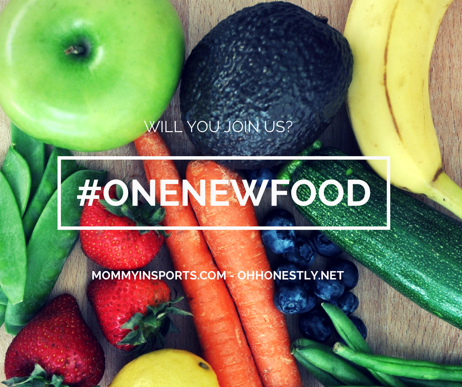 will you join us #onenewfood 2