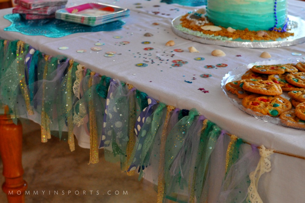 Ariel Banner Dessert Table