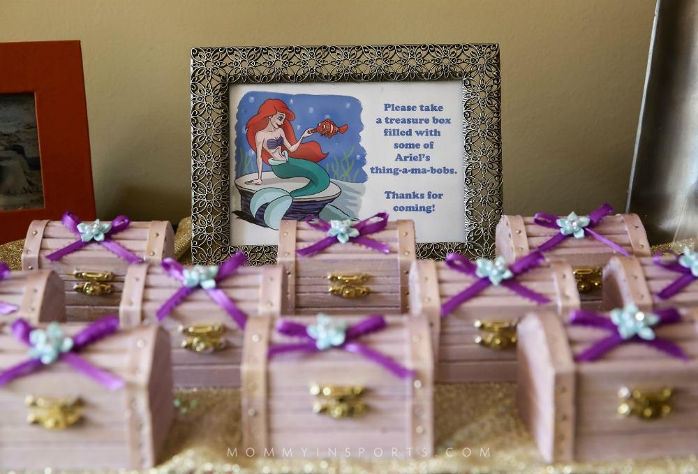Ariel Treasure Favors