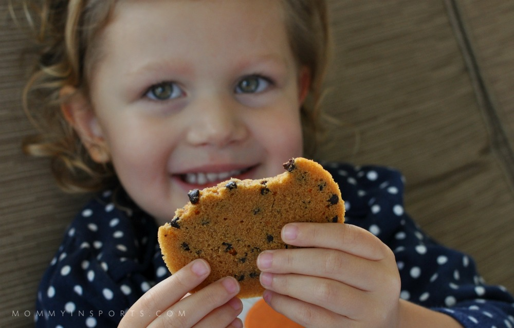Emy loves Gluten Free Cookies!