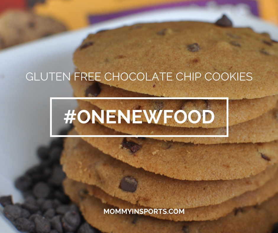 One New Food Gluten Free Choc Chip Cookies