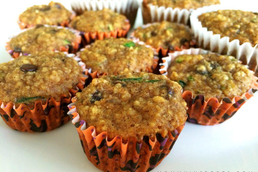 One New Food – Paleo Zucchini Muffins
