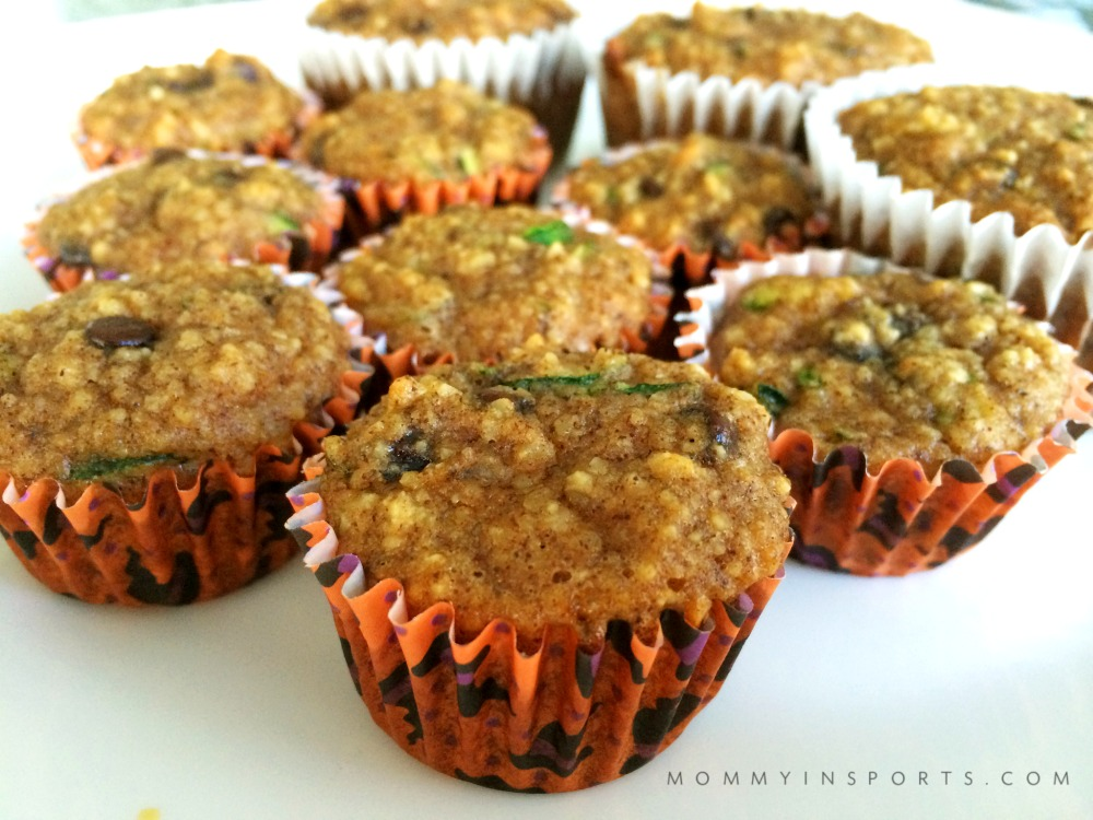 mini paleo zuchinni muffins