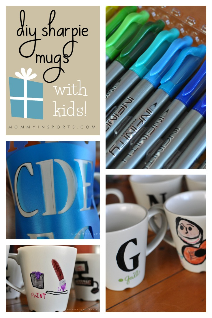 Looking for a cute craft to do with your kids that could double as a unique holiday gift? Try these DIY Sharpie mugs with kids!