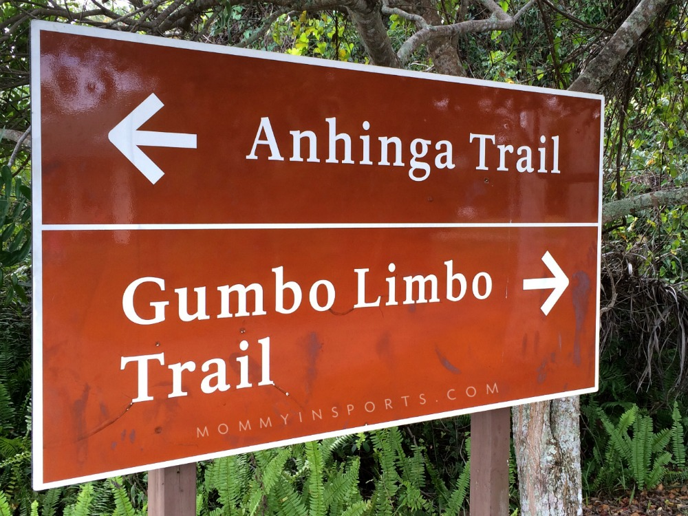 Anhinga Trail Sign