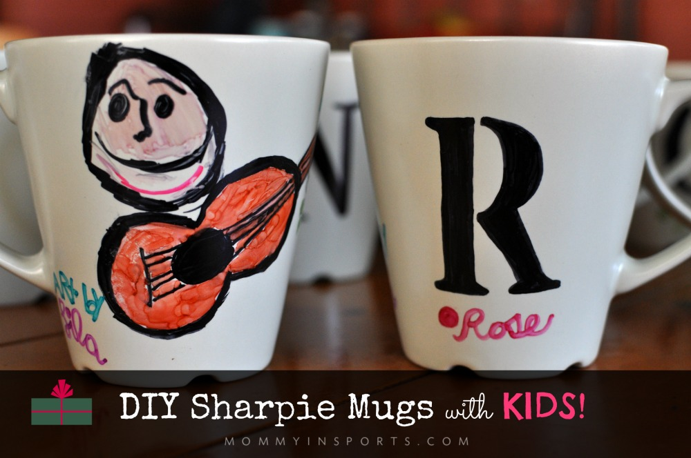 DIY Sharpie Mugs with Kids!