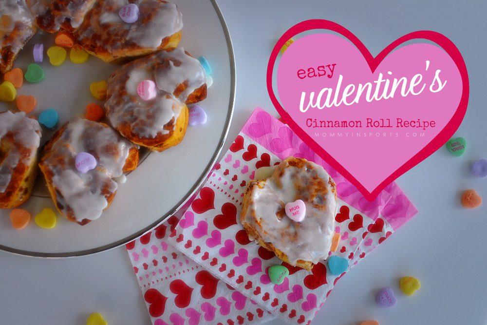 Easy Valentine's Cinnamon Roll Recipe