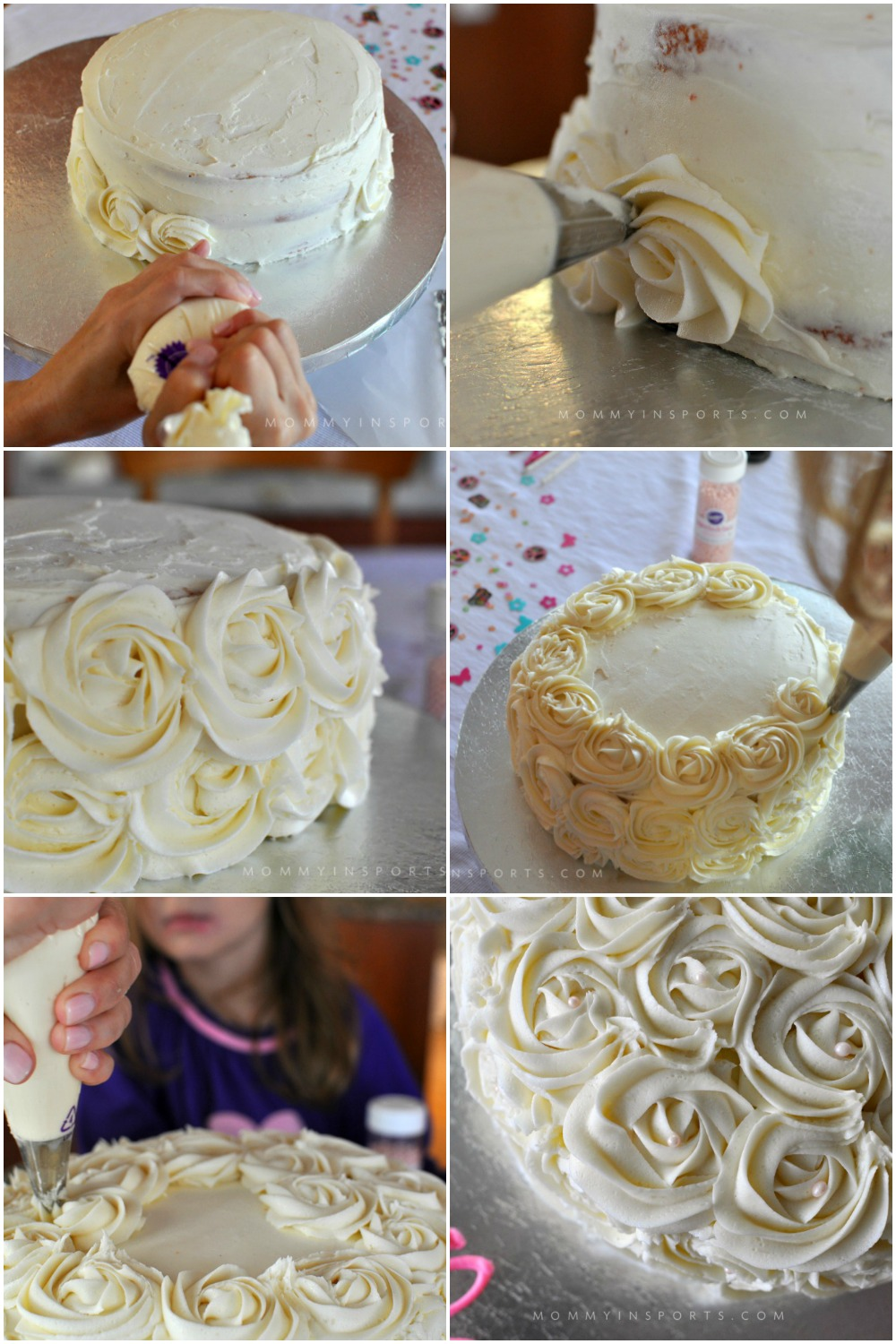 Always wanted to make a DIY rosette cake but afraid it would be too difficult?! Follow these simple steps and wow yourself and your crowd on the first try!