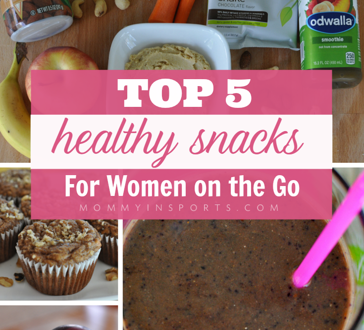 Top 5 Healthy Snacks for Women On the Go