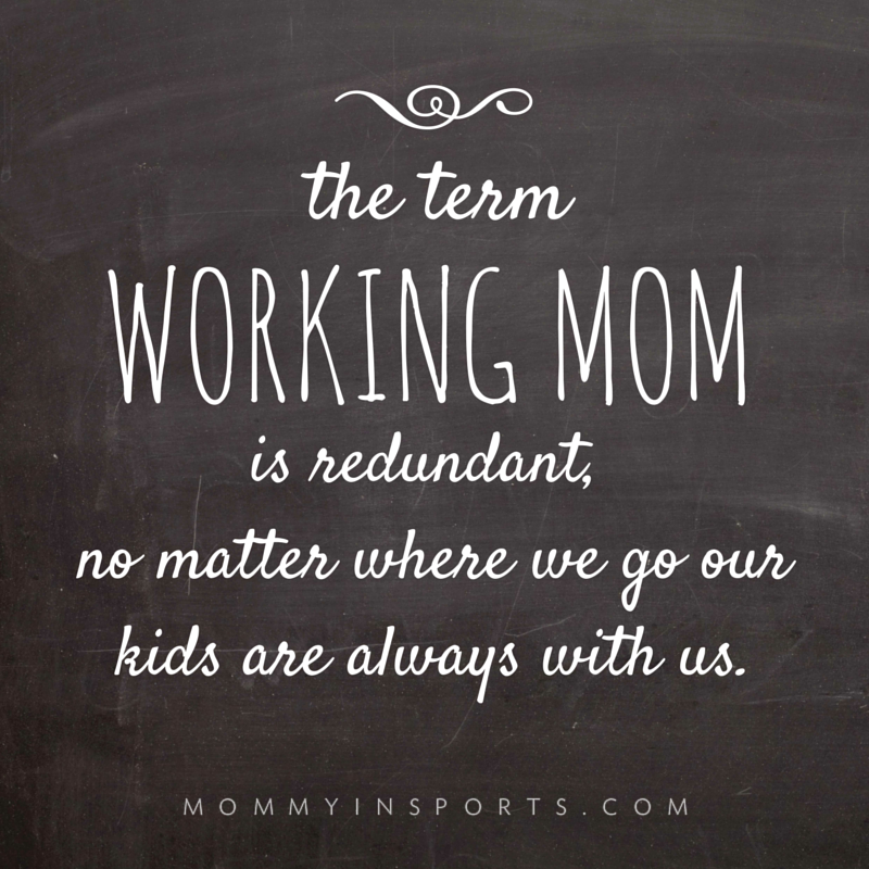 the term working mom