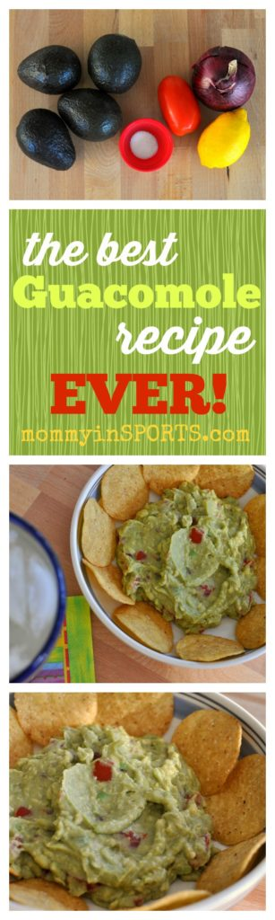 Looking for a simple yet delicious and fresh guacamole recipe? Try this! It takes less than 5 minutes and perfect for a backyard cookout or cinco de mayo party!