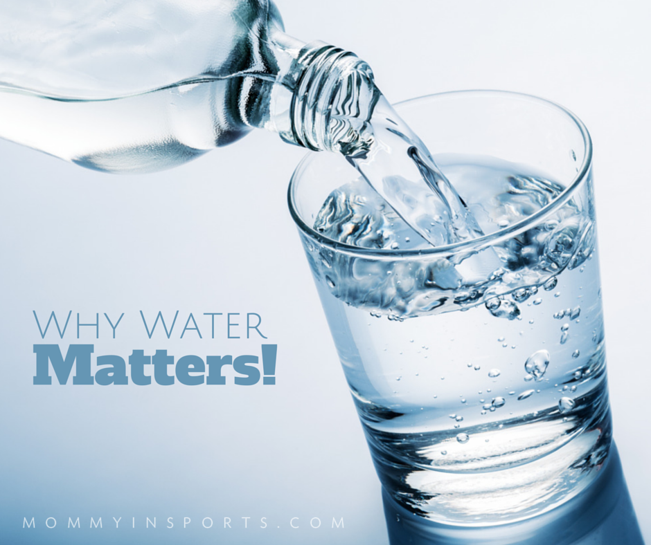 Why Water Matters - easy snacks for kids that play sports