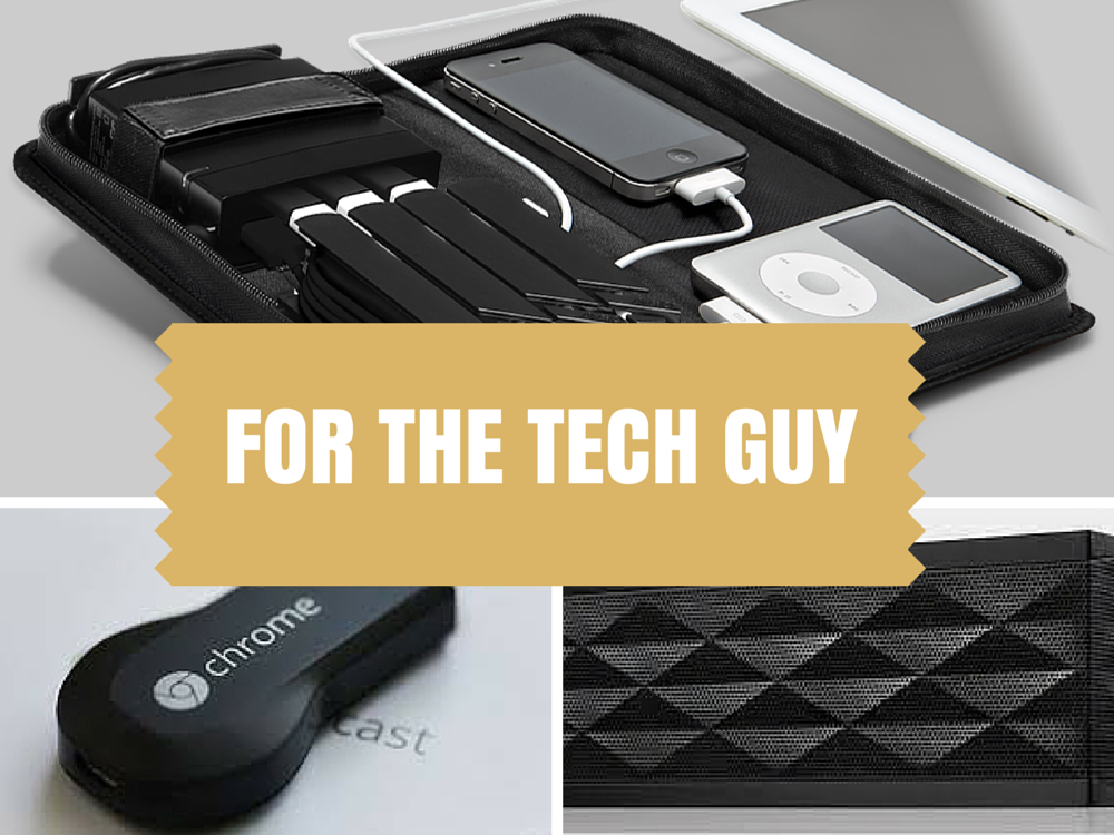 30 GIFT IDEAS FOR THE TECH GUY - Looking for a unique gift for the men in your life? START here! Get hims something he REALLY wants!