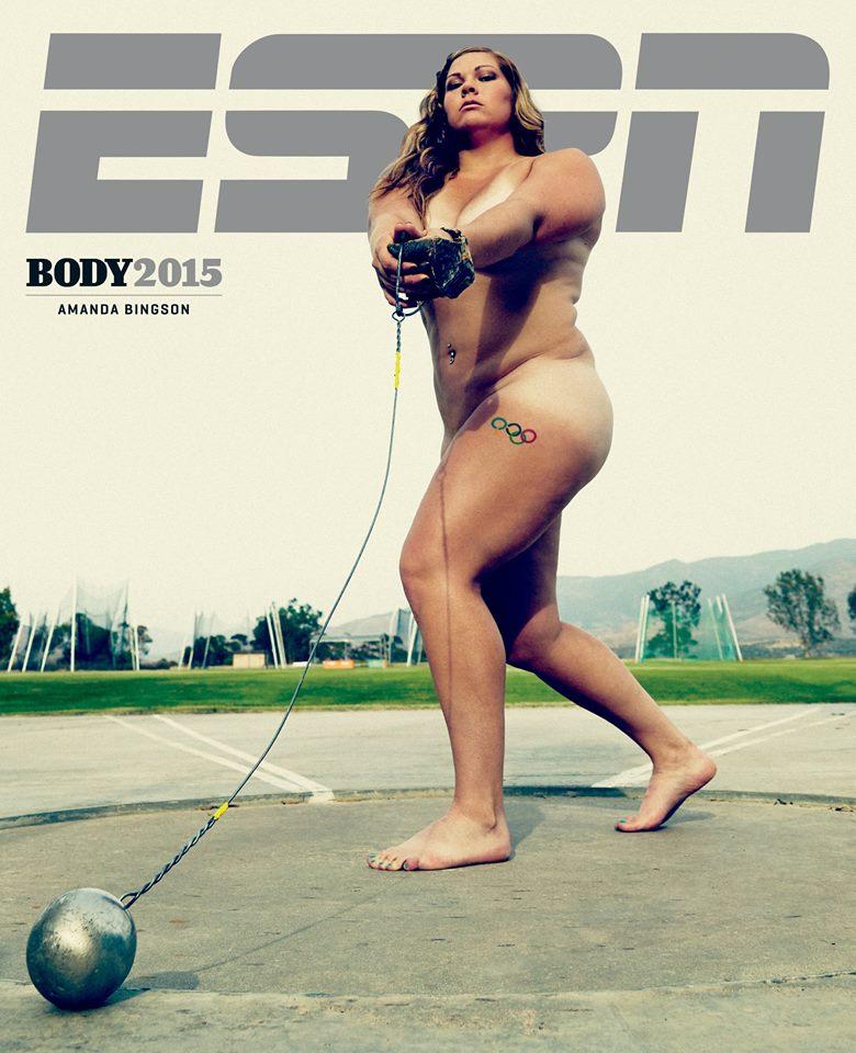 Amanda Bingson Strips Away Body Shame