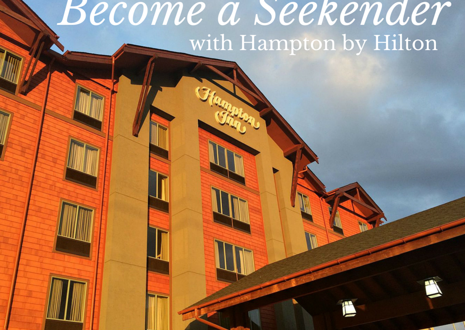 Become a Seekender with Hampton by Hilton