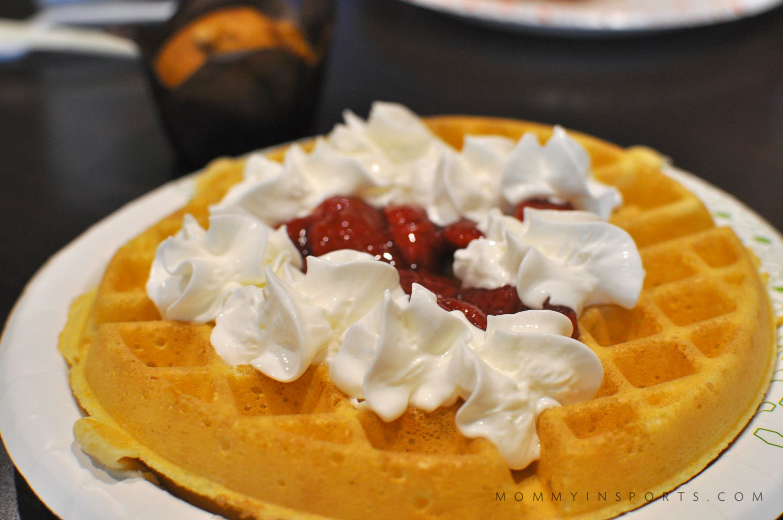 Hampton by Hilton Waffle