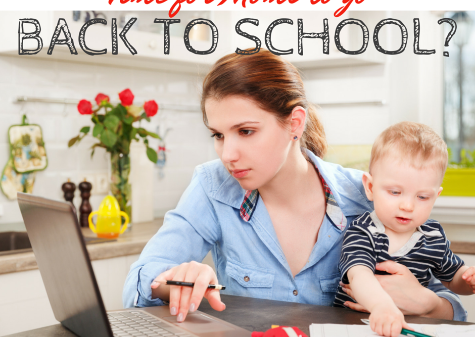 Time for Moms to Go Back to School?