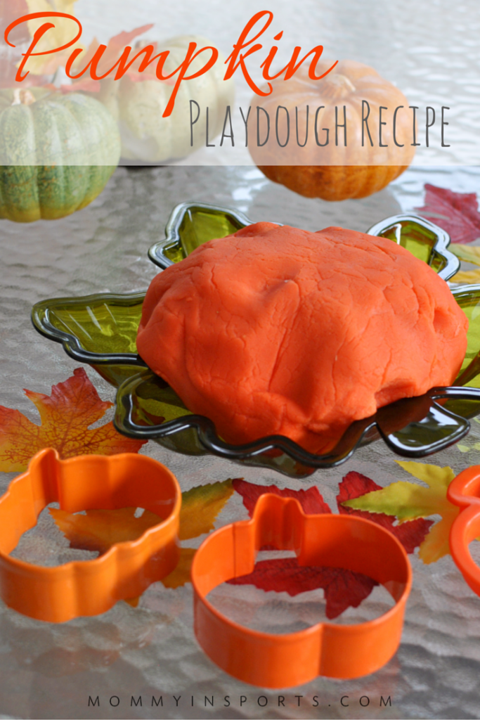 It's almost that time of year! And what child wouldn't love to make this homemade pumpkin playdough? It's not only a fun sensory exercise, but math as well when your kids help you make it! Collect some fall leaves and let the fun begin!