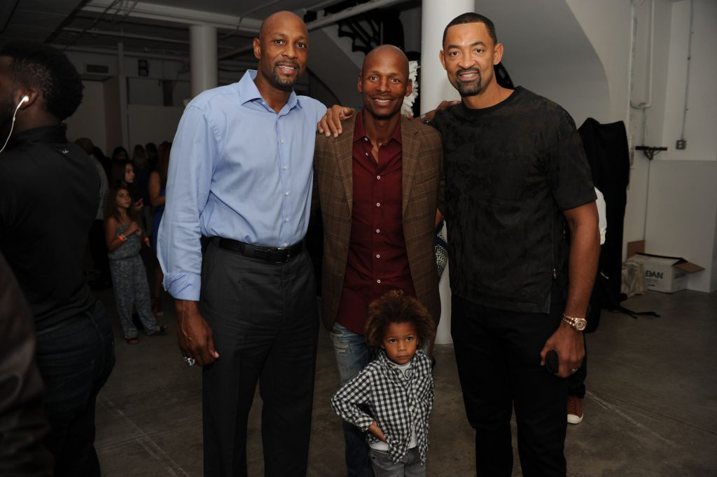 Alonzo Mourning, Ray Allen, & Juwan Howard1