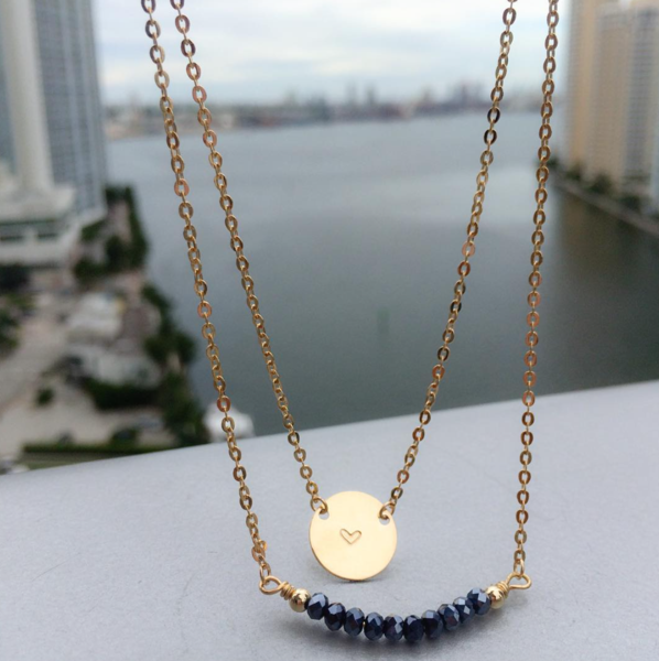 Taudrey Coin necklace