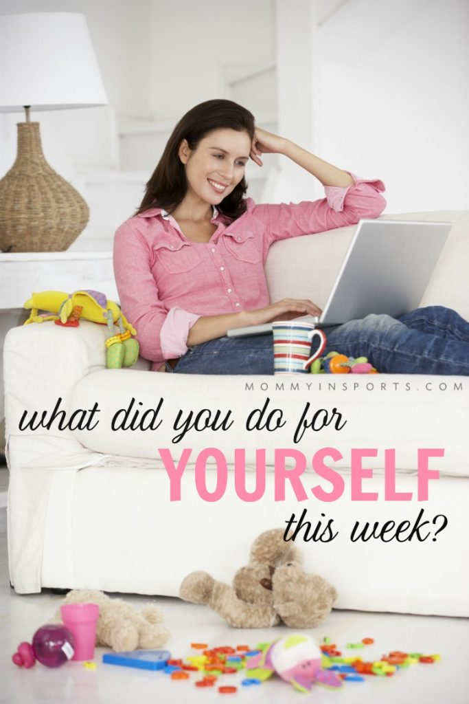 Do you make time for yourself? Sometimes as moms and wives we forget to schedule in time for ourselves, but it's not as hard as you think!