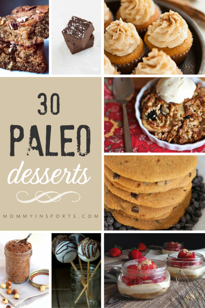 Looking for something sweet but trying to stay within your diet? Why not try one of these 30 paleo desserts!? They are low in sugar but big on flavor!