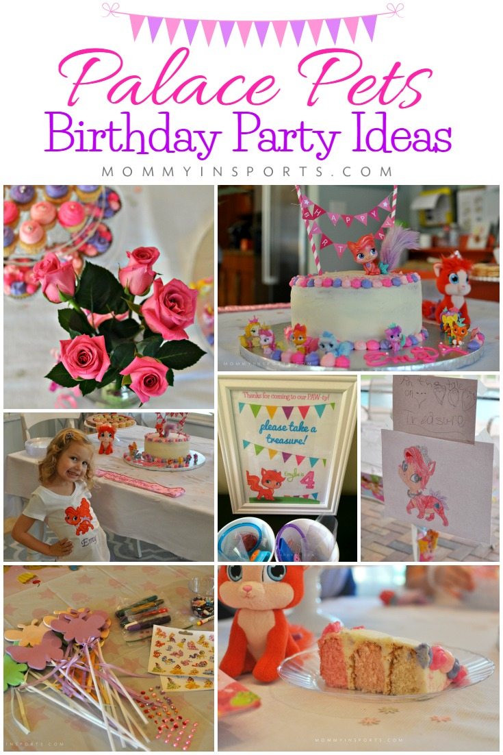 Throwing A Big Palace Pets Birthday Party Try One Of These Simple Yet Pretty Homemade