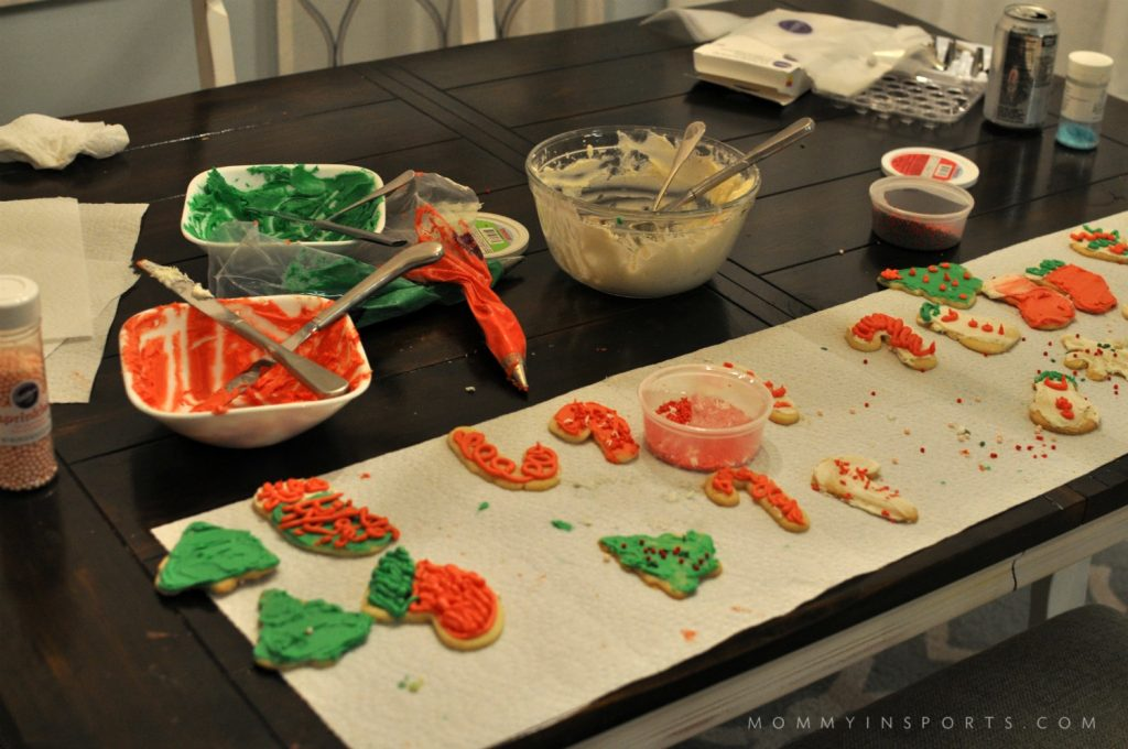 Kids home for winter break? Let them make their own cookies! Here's What I Learned From Our Kid's Not So Crappy Christmas Cookies